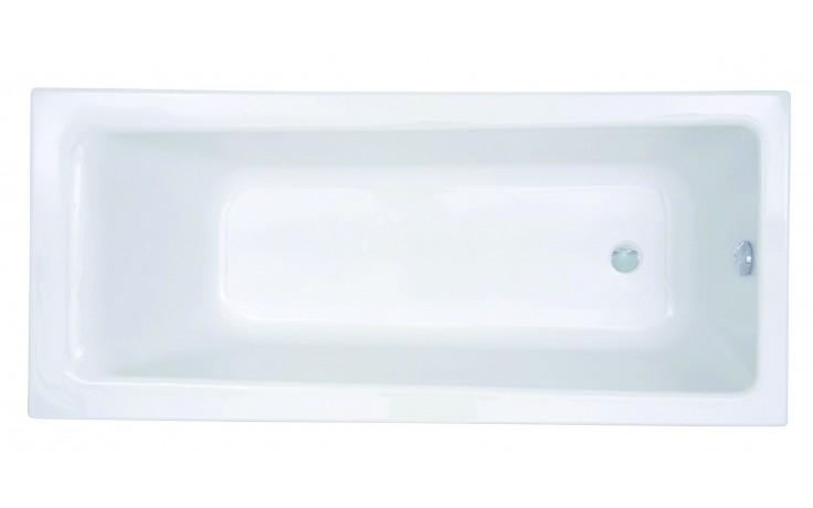 CONCEPT 100 vaňa klasická 1600x700mm akrylátová, biela