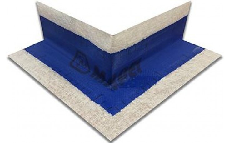 MAPEI MAPEBAND pogumovaná páska, vonkajší roh 270, modrá