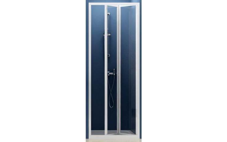 RAVAK SUPERNOVA SDZ2 70 sprchové dvere 670x710x1850mm dvojdielne, zalamovacie, biela / grape 01V10100ZG