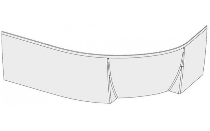 RAVAK ROSA II L panel 1500x565mm ľavý, biela