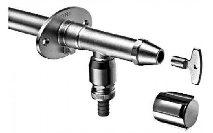 SCHELL POLAR II vonkajší ventil DN15, mrazuvzdorný, chróm