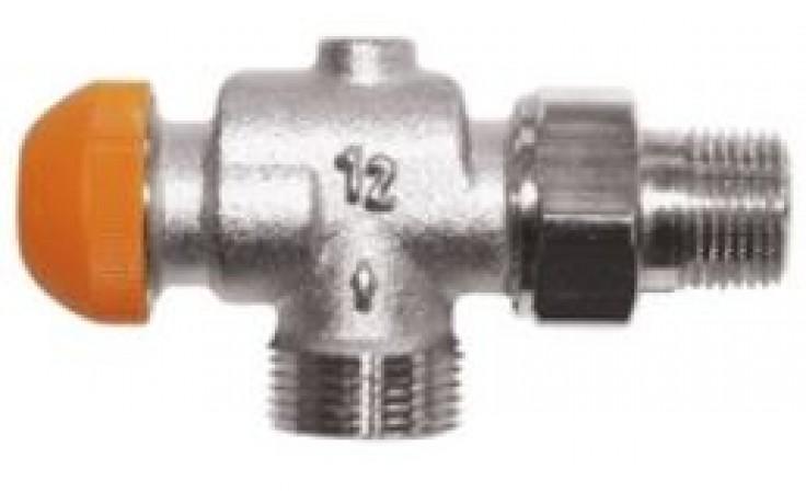 """HERZ TS-98-V termostatický ventil 1/2"""" rohový, špeciál, s plynulým odčítateľným prednastavením"""