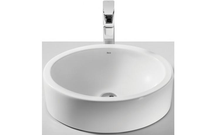 ROCA FUEGO umývadlová misa 490x390mm bez otvoru, biela 732722E000
