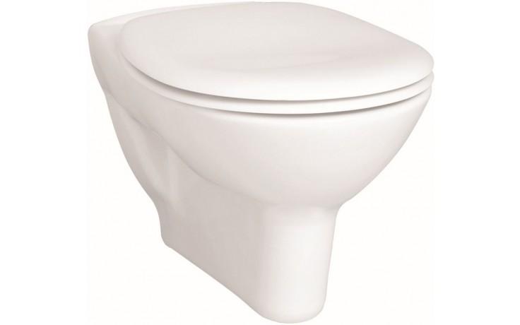 CONCEPT 100 závesné WC 355x540mm vodorovný odpad, plytké splachovanie, biela alpin 5284L003-1125
