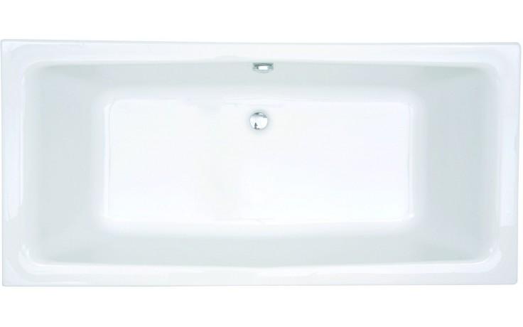 CONCEPT 100 vaňa klasická 1700x750mm akrylátová, so stredovým odtokom, biela