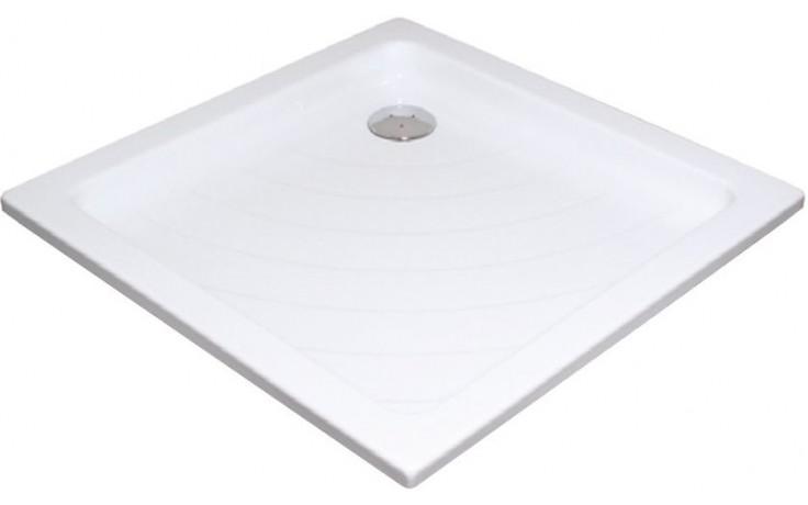 RAVAK ANGELA 90 PU sprchová vanička 905x905mm akrylátová, štvorcová biela A007701120