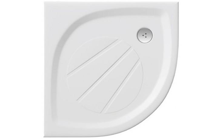 RAVAK ELIPSO PRO 100 sprchová vanička 1000x1000mm z liateho mramoru, extra plochá, štvrťkruhová, biela XA23AA01010