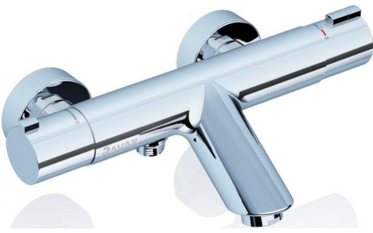 RAVAK TERMO TE 022.00 / 150 termostatická vaňová batéria 284x178x62mm nástenná, guľatá, bez setu X070047