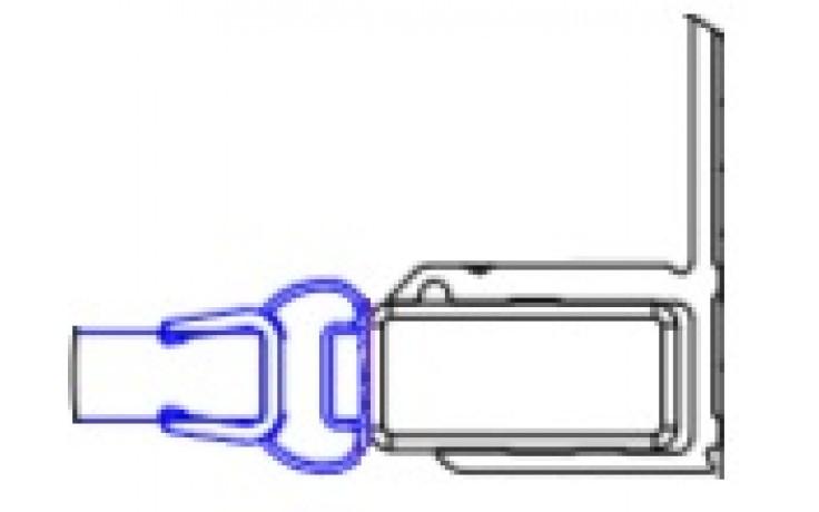 CONCEPT 200 magnetické tesnenie pre dvere 2000mm