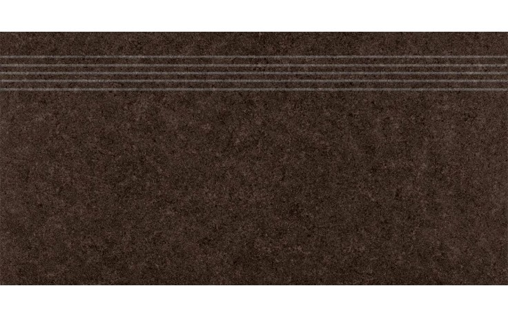 RAKO ROCK schodovka 30x60cm, hnedá