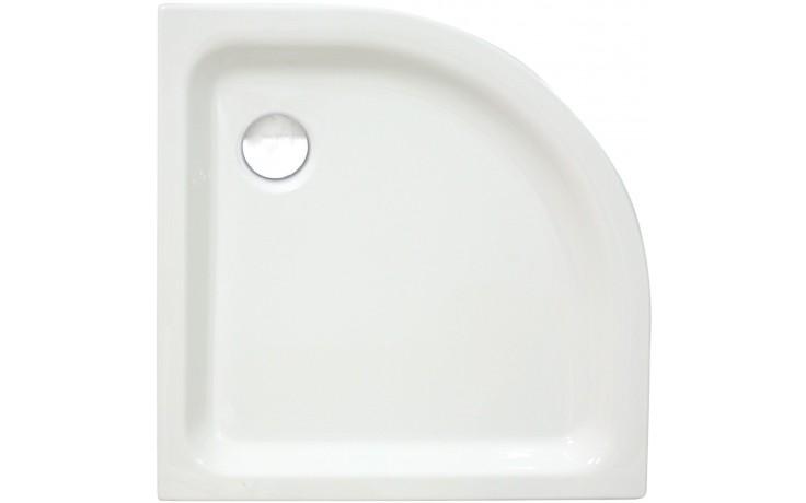 CONCEPT 100 sprchová vanička 800x800mm akrylátová, štvrťkruh, R 550mm, biela 55630001000