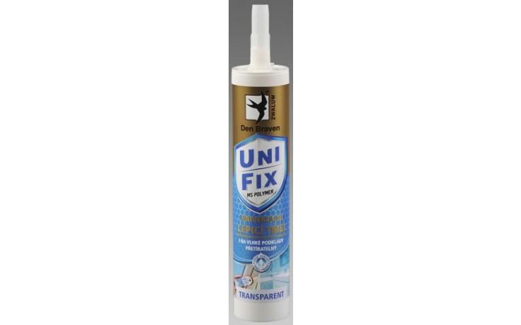 DEN BRAVEN MS UNIFIX CLEAR polymérny tmel 290ml, jednozložkový, transparentný