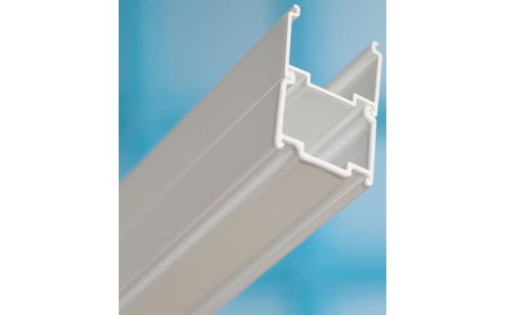 RAVAK NPS nastavovací profil 1850mm k sprchovacím kútom biela E778801118500