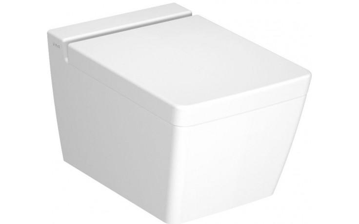 VITRA T4 závesné WC 355x540mm, s hlbokým splachovaním, biela