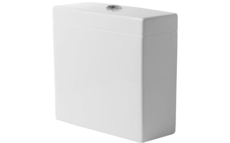DURAVIT VERO splachovacia nádrž 380x160mm s Dual-Flush, biela/chróm 0909000005