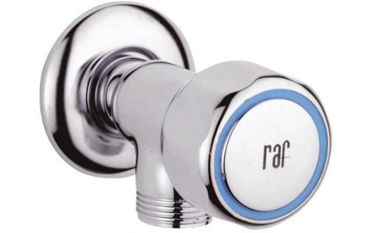 """RAF RIO práčkový ventil 3/4 """", chróm"""