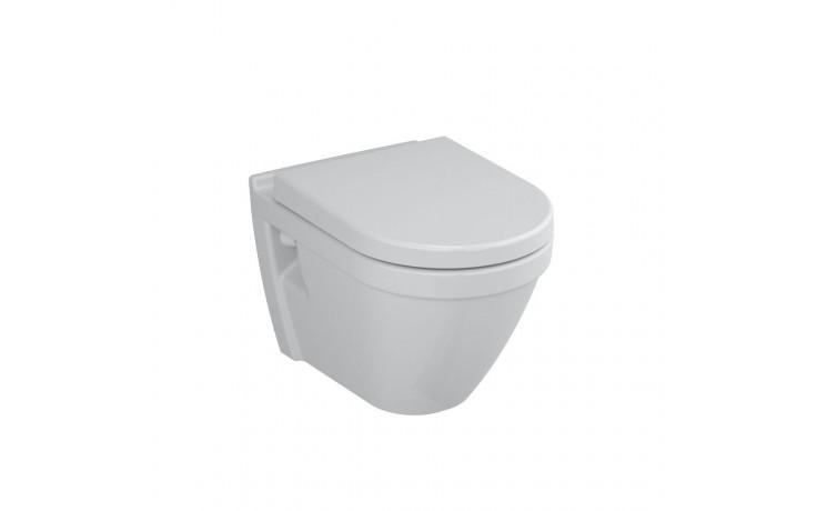 CONCEPT S50 závesné WC 355x520mm vodorovný odpad, hlboké splachovanie biela 5318L003-0075