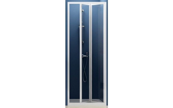 RAVAK SUPERNOVA SDZ2 70 sprchové dvere 670x710x1850mm dvojdielne, zalamovacie, biela / transparent 01V10100Z1
