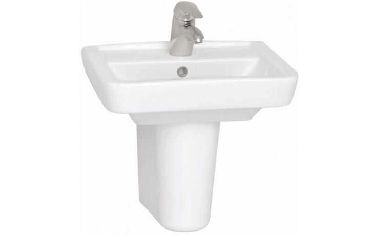 CONCEPT 200 umývadielko 500x390mm s otvorom, biela alpin 5275L003-1121