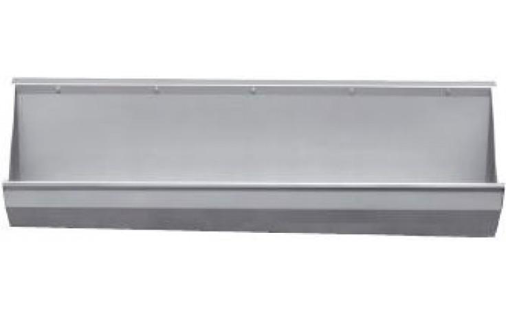 AZP BRNO ZP 01.3 pisoárový žľab 2500x745mm, závesný, nerez