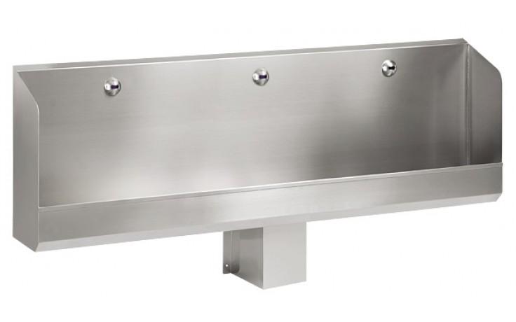 SANELA SLPN04E pisoárový žľab 1800mm, automatický, s elektronikou, nerez mat