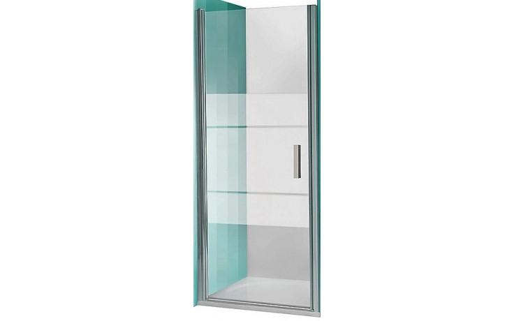 ROLTECHNIK TOWER LINE TCN1/1000 sprchové dvere 1000x2000mm jednokrídlové na inštaláciu do niky, bezrámové, brillant/transparent