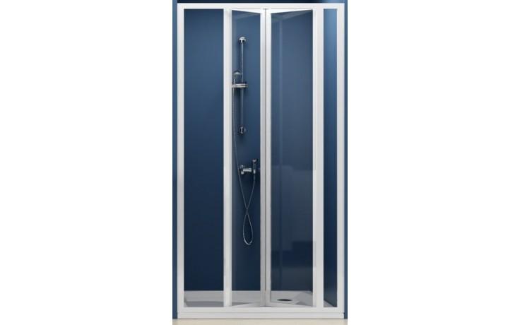 RAVAK SUPERNOVA SDZ3 100 sprchové dvere 970x1010x1850mm trojdielne, zalamovacie, biela / grape 02VA0100ZG