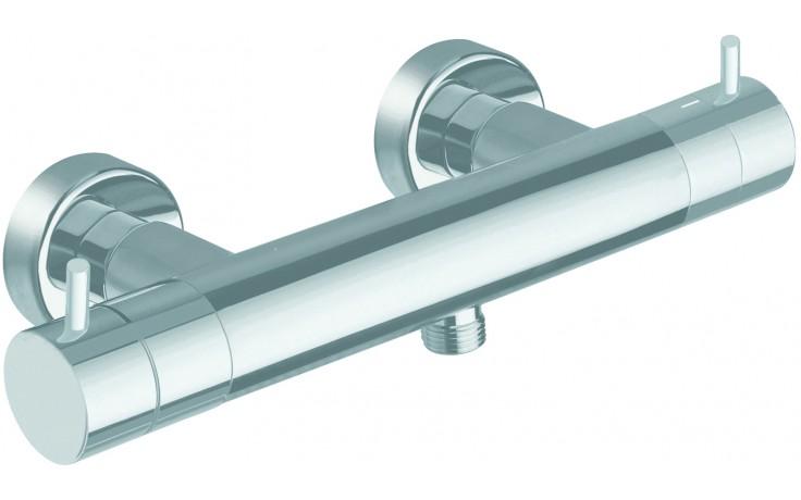 CRISTINA TRICOLORE VERDE sprchová batéria nástenná termostatická 292x112mm chróm
