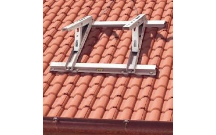 BAXI MT630 konzoly 800x450mm, na šikmú strechu, kotvenie na tašky, šedobiela RAL 9002