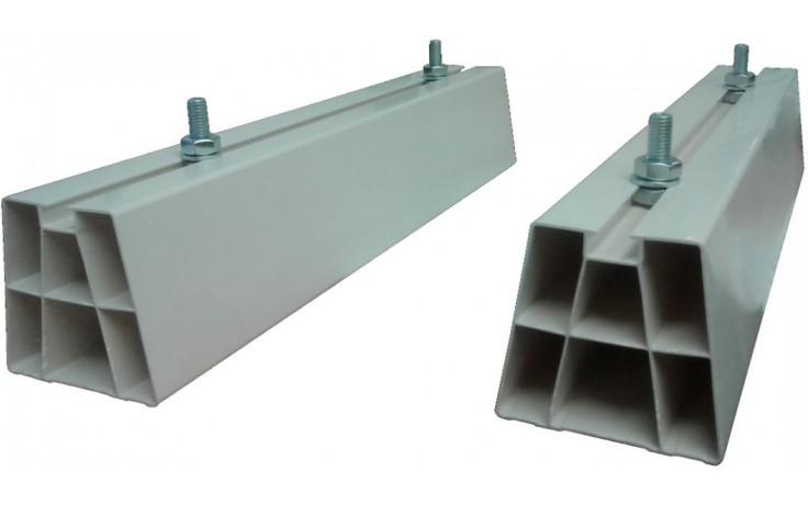 BAXI antivibračné podstavce 450x80mm, pre umiestnenie na zem, PVC