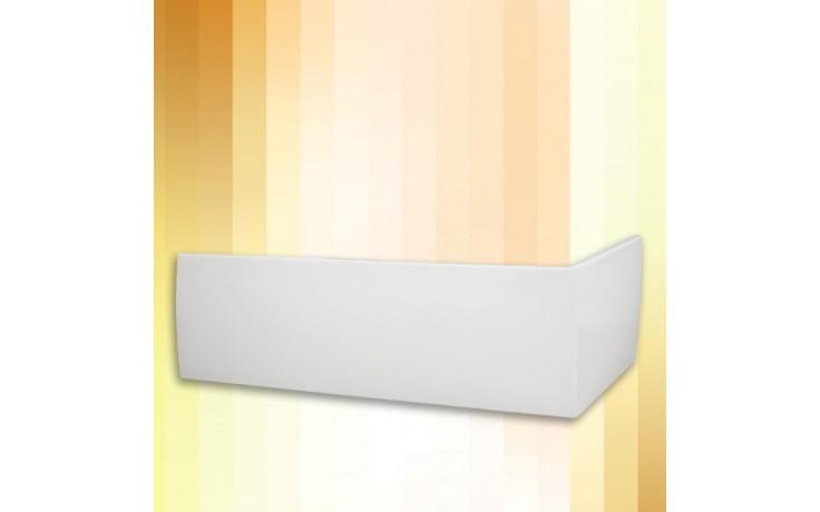 ROTH KUBIC ASYMMETRIC 160 čelný panel 1600mm, krycí, akrylátový, biela