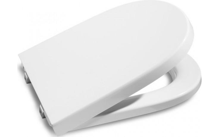 ROCA MERIDIAN poklop bidetu, odnímateľný, s antibakteriálnou úpravou, s nerezovými úchytkami, biela 78062A0004