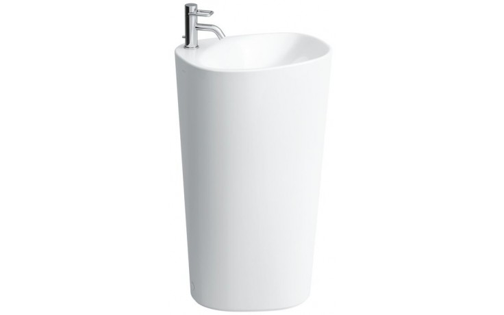 LAUFEN PALOMBA COLLECTION voľne stojace umývadlo 520x395mm s otvorom, biela