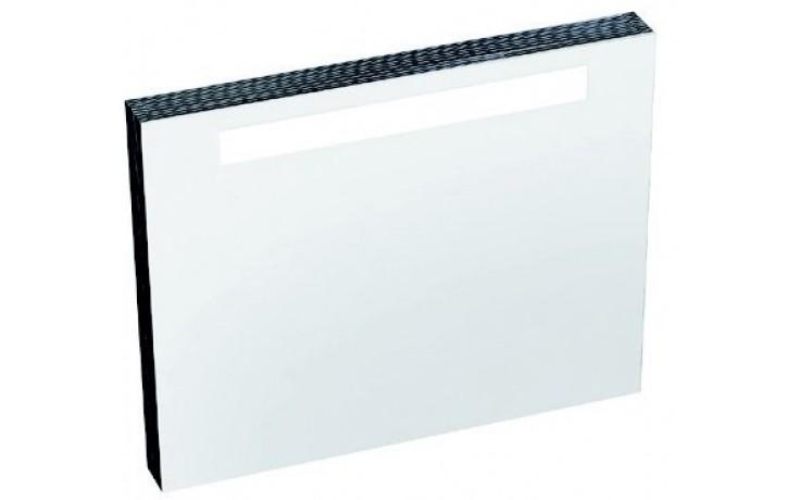 RAVAK CLASSIC 600 zrkadlo 600x550x70mm sa žiarivkou s el. zásuvkou, biela X000000352