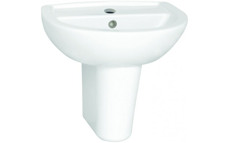 CONCEPT 100 umývadielko 500x390mm s otvorom, biela alpin 5271L003-1121