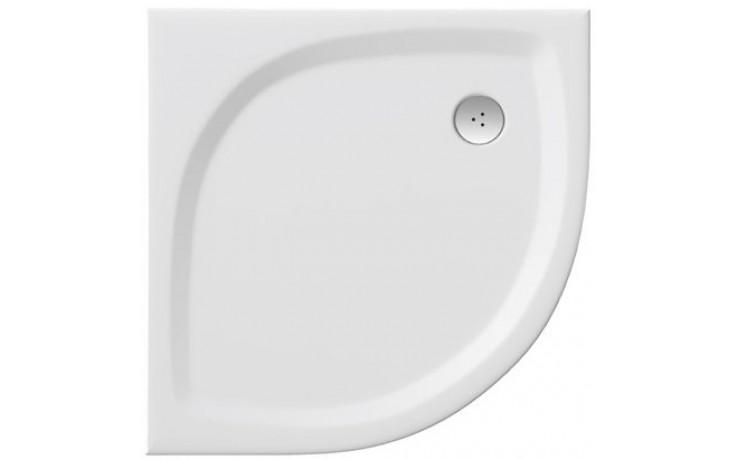 RAVAK ELIPSO PRO FLAT 90 sprchová vanička 900x900mm z liateho mramoru, extra plochá, štvrťkruhová, biela XA237711010
