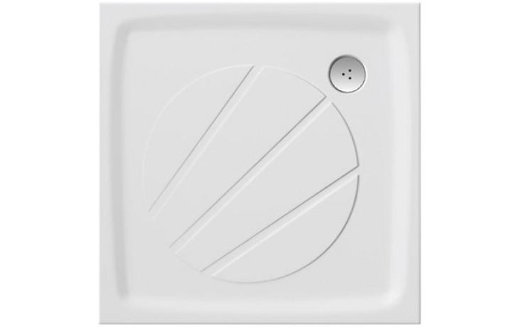 RAVAK PERSEUS PRO 90 sprchovacia vanička 900x900mm z liateho mramoru, extra plochá, štvorcová, biela XA037701010