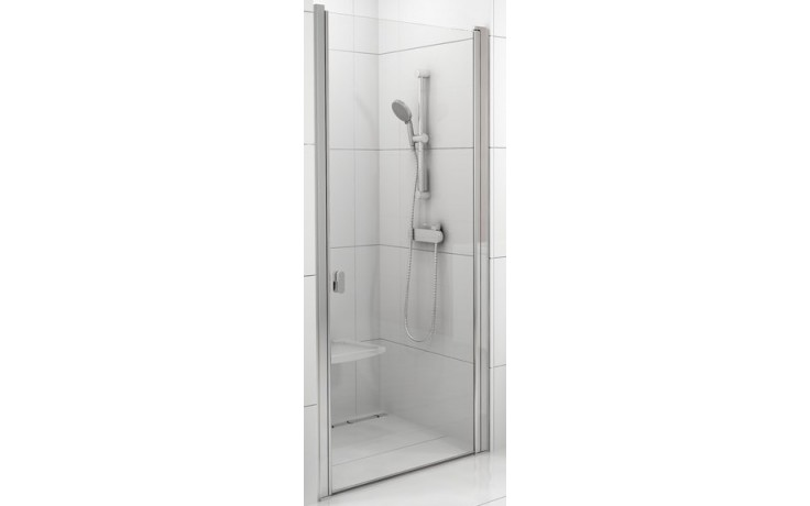 RAVAK CHROME CSD1 80 sprchové dvere 775x805x1950mm jednodielne bright alu / transparent 0QV40C00Z1