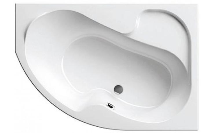 RAVAK ROSA I 160P asymetrická vaňa 1600x1050mm akrylátová, pravá, biela