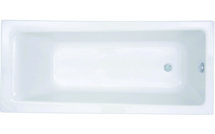 CONCEPT 100 vaňa klasická 1700x750mm akrylátová, biela