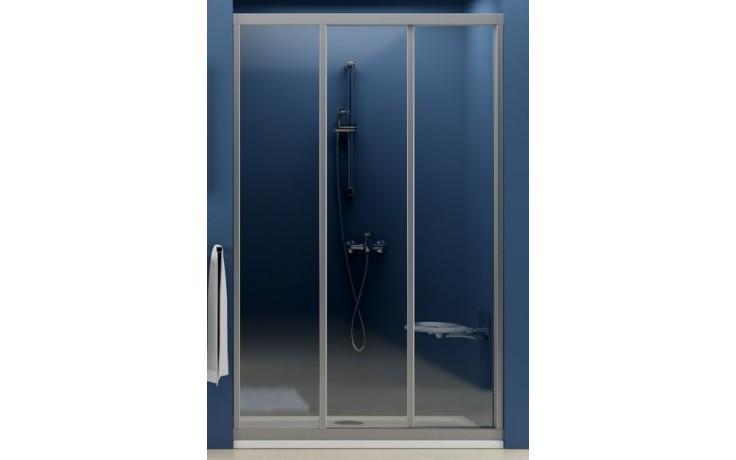 RAVAK SUPERNOVA ASDP3 100 sprchové dvere 970x1010x1880mm trojdielne, posuvné, biela / grape 00VA0102ZG