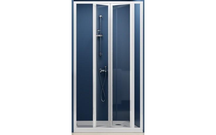 RAVAK SUPERNOVA SDZ3 100 sprchové dvere 970x1010x1850mm trojdielne, zalamovacie, biela / pearl 02VA010011