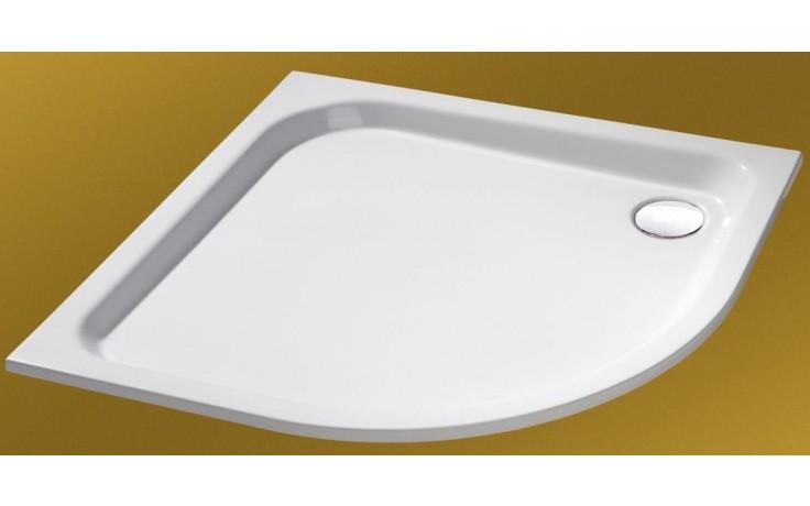 CONCEPT HÜPPE Verano sprchová vanička 800x800mm štvrťkruh, biela 235020.055