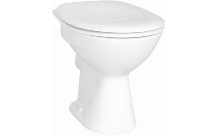 CONCEPT 100 WC misa 355x475mm vodorovný odpad, hlboké splachovanie biela alpin 5286L003-1125