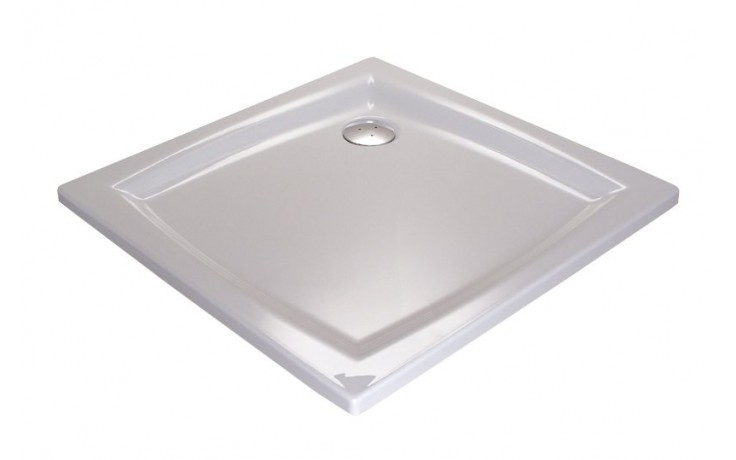 RAVAK PERSEUS 90 LA sprchová vanička 900x900x148mm akrylátová, štvorcová biela A027701210