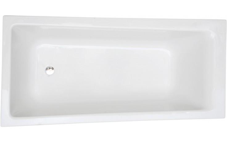 CONCEPT 100 vaňa asymetrická 1700x750-850mm akrylátová, so sprchovou zónou, ľavá, biela