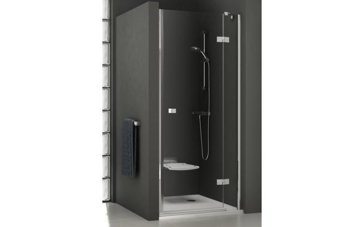 RAVAK SMARTLINE SMSD2-110 B sprchové dvere 1099x1116x1900mm dvojdielne, ľavé chróm / transparent 0SLDBA00Z1