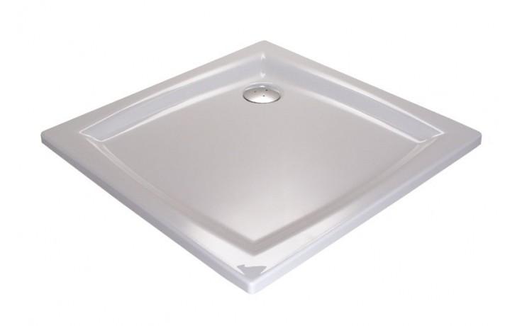 RAVAK PERSEUS 80 PP sprchová vanička 800x800mm akrylátová, štvorcová biela A024401510