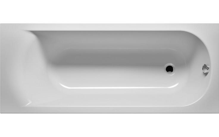 RIHO MIAMI BB60 vaňa 160x70cm obdĺžniková, akrylátová, biela