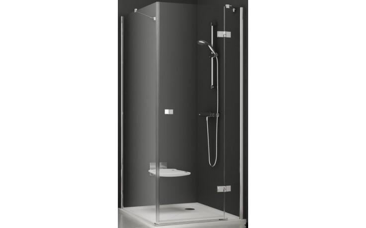 RAVAK SMARTLINE 80 pevná stena 785x797x1900mm jednodielna, ľavá, chróm / transparent 9SL40A00Z1